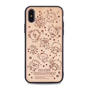 Sanrio Characters Wooden Case (MC88W)