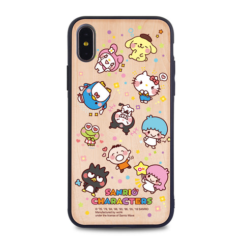 Sanrio Characters Wooden Case (MC90W)