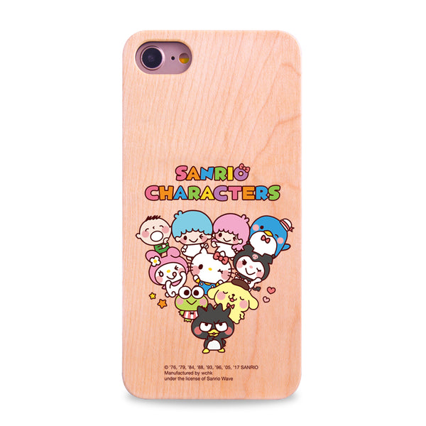 Sanrio Characters Wooden Case (MC91W)