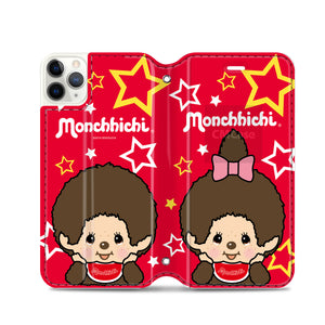 Monchhichi Leather Flip Case (MOCM38)