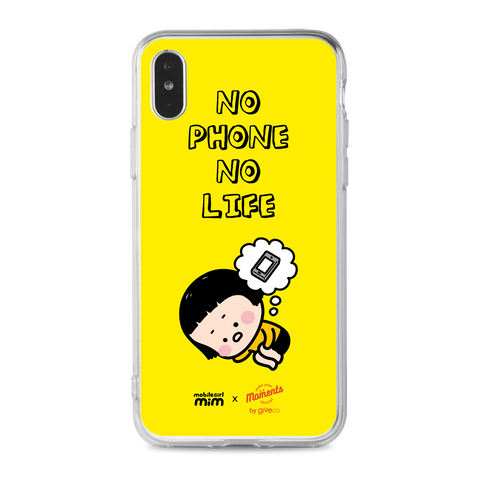 Mobile Girl MiM Clear Case (PC-MM006A)