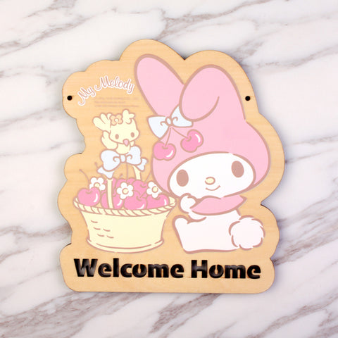 My Melody Wooden Signage (MM81s)