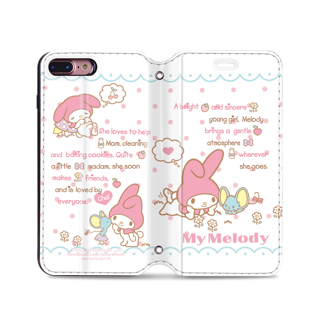 My Melody Leather Flip Case (MMCM15)