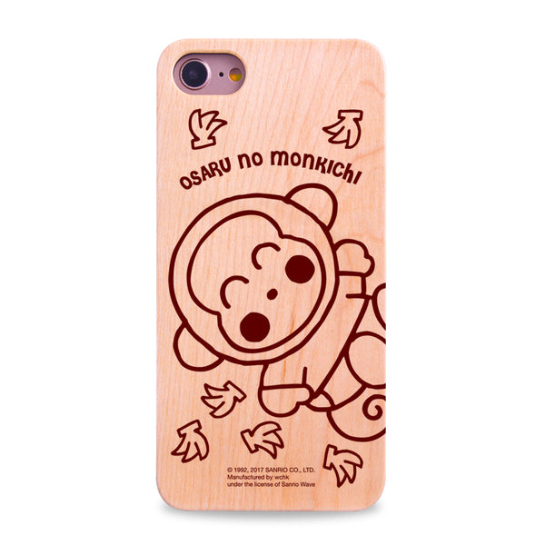 Osaru No Monkichi Wooden Case (OM89W)