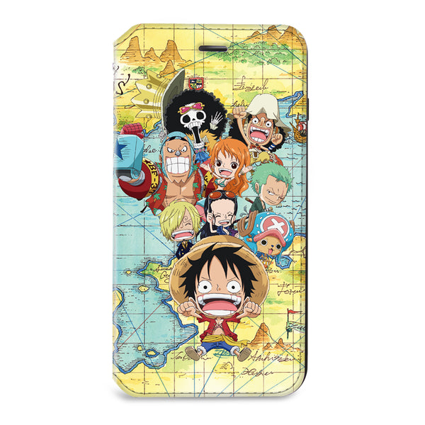 One Piece Leather Flip Case (OP-Luffy-003)