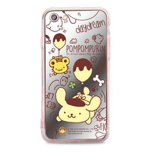 Pom Pom Purin Mirror Jelly Case (PN85M)