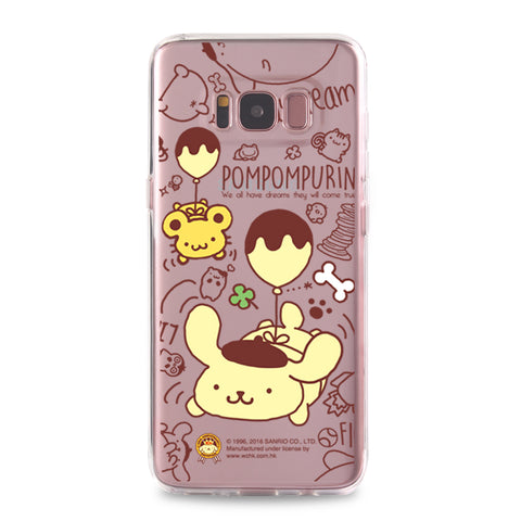 Pom Pom Purin Clear Case (PN85)
