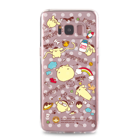 Pom Pom Purin Clear Case (PN86)