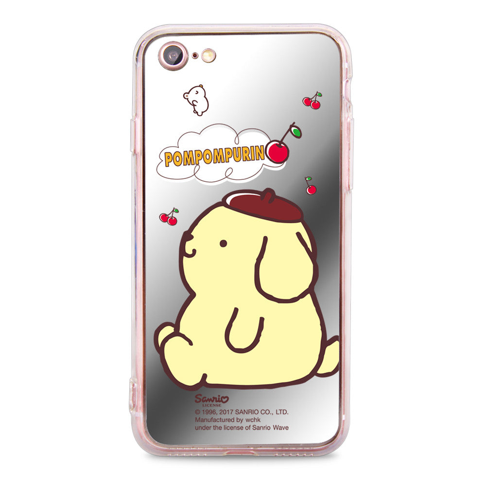 Pom Pom Purin Mirror Jelly Case (PN87M)