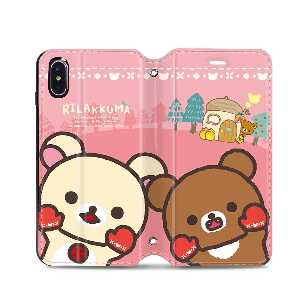 Rilakkuma Leather Flip Case (RKCM01)