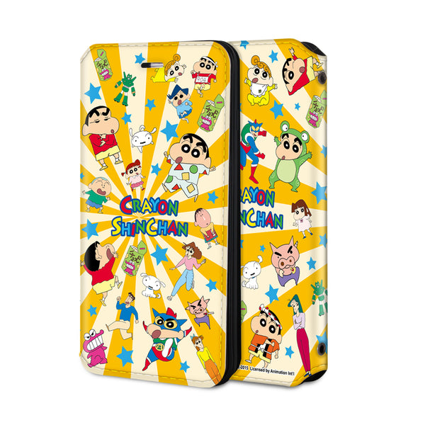 Crayon Shin-chan Leather Flip Case (SC81)