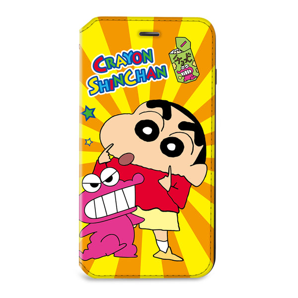 Crayon Shin-chan Leather Flip Case (SC82)