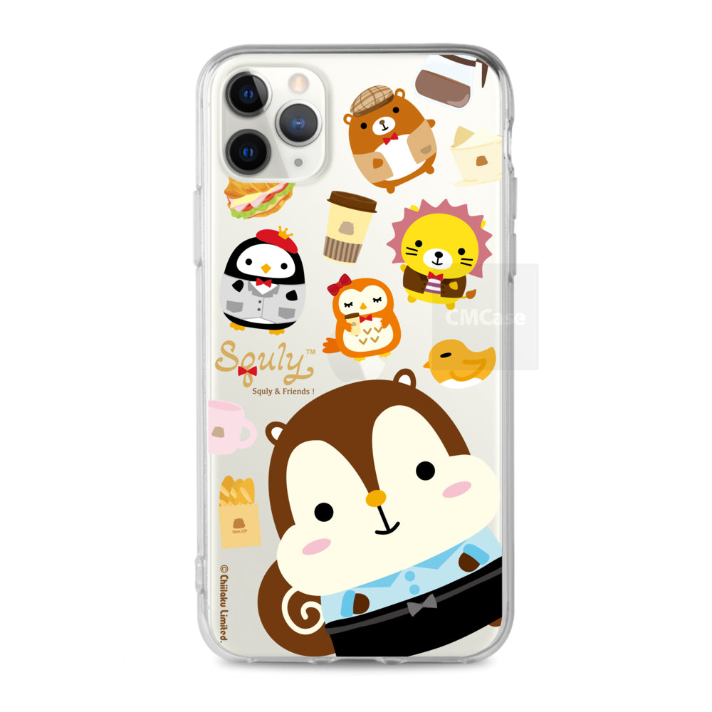 Squly & Friends Clear Case (SNF83)