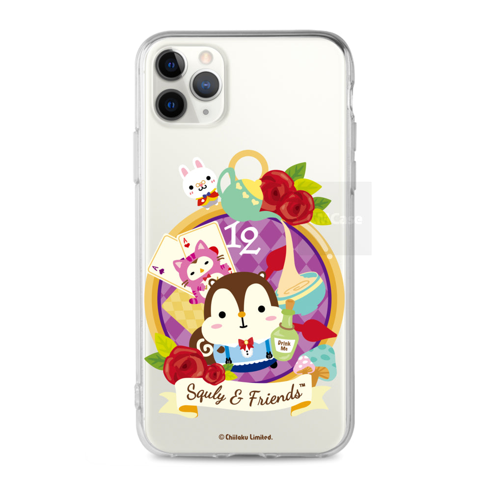 Squly & Friends Clear Case (SNF84)