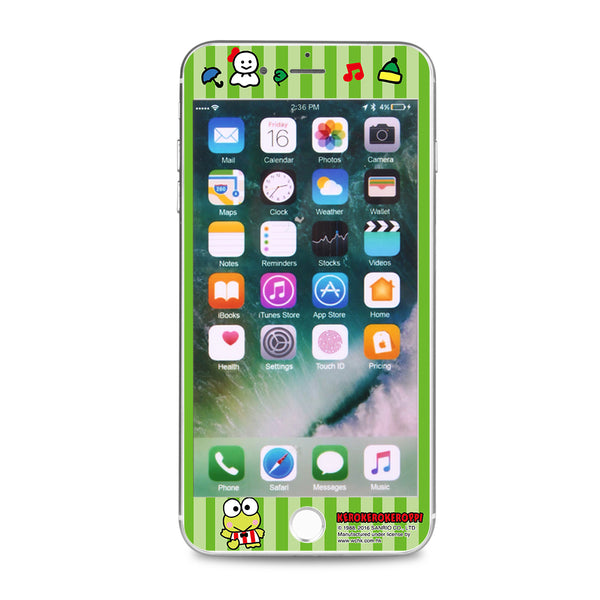 KeroKeroKeroppi Glass Screen Protector (SPKR01)