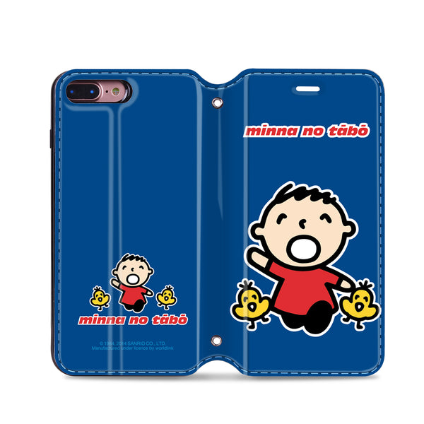 Minna no Tabo Leather Flip Case (TACM03)