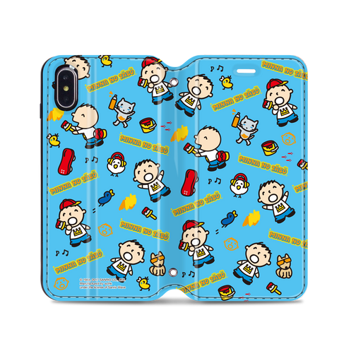 Minna no Tabo Leather Flip Case (TACM07)