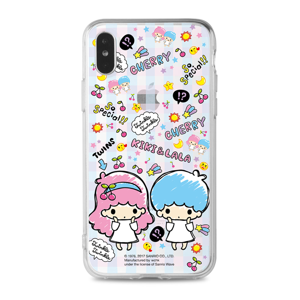 Little Twin Stars Clear Case (TS109)