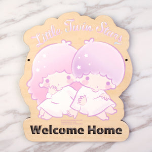 Little Twin Stars Wooden Signage (TS81s)