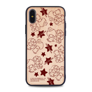 Little Twin Stars Wooden Case (TS89W)