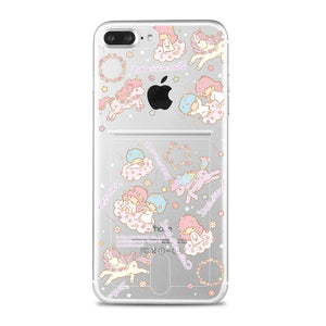 Little Twin Stars Jelly Card Case (TSCH87)