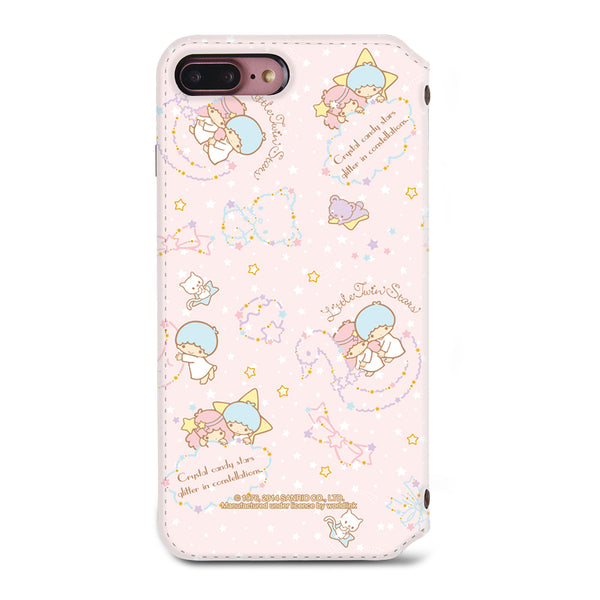 Little Twin Stars Leather Flip Case (TSCM04)
