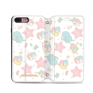 Little Twin Stars Leather Flip Case (TSCM06)