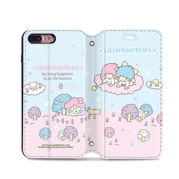 Little Twin Stars Leather Flip Case (TSCM10)