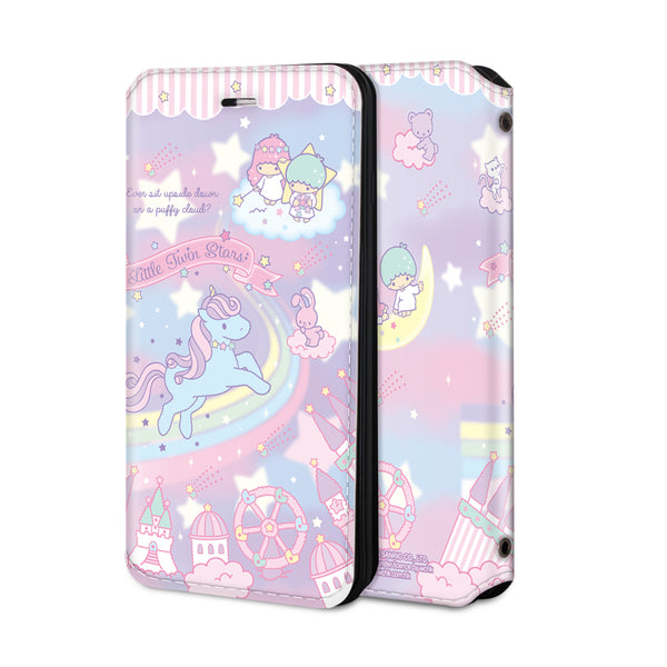 Little Twin Stars Leather Flip Case (TSCM17)