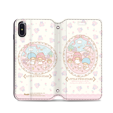 Little Twin Stars Leather Flip Case (TSCM20)