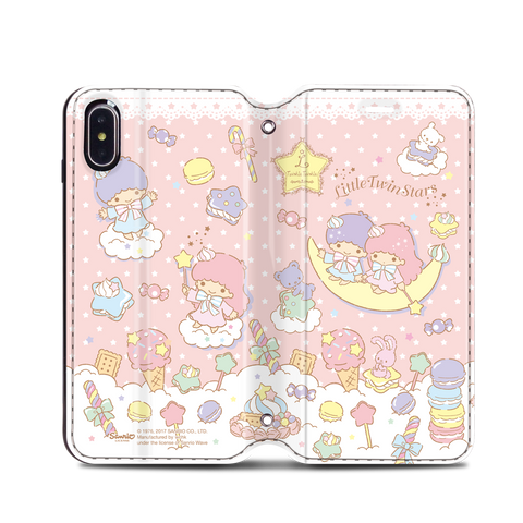 Little Twin Stars Leather Flip Case (TSCM21)