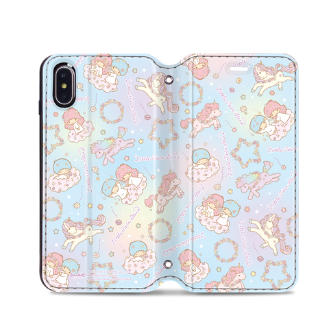 Little Twin Stars Leather Flip Case (TSCM22)