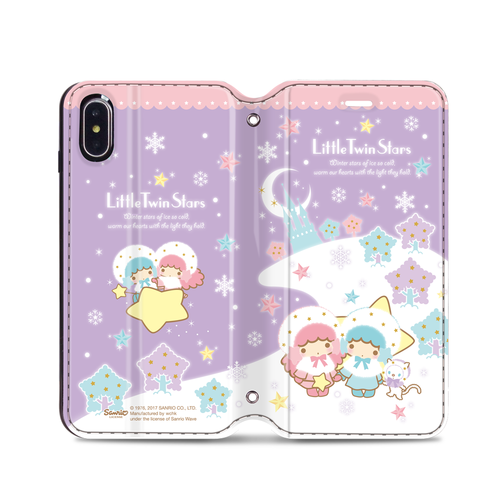 Little Twin Stars Leather Flip Case (TSCM23)