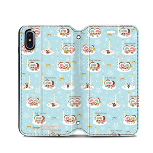 Little Twin Stars Leather Flip Case (TSCM24)