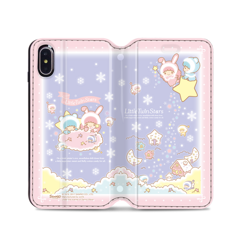 Little Twin Stars Leather Flip Case (TSCM25)