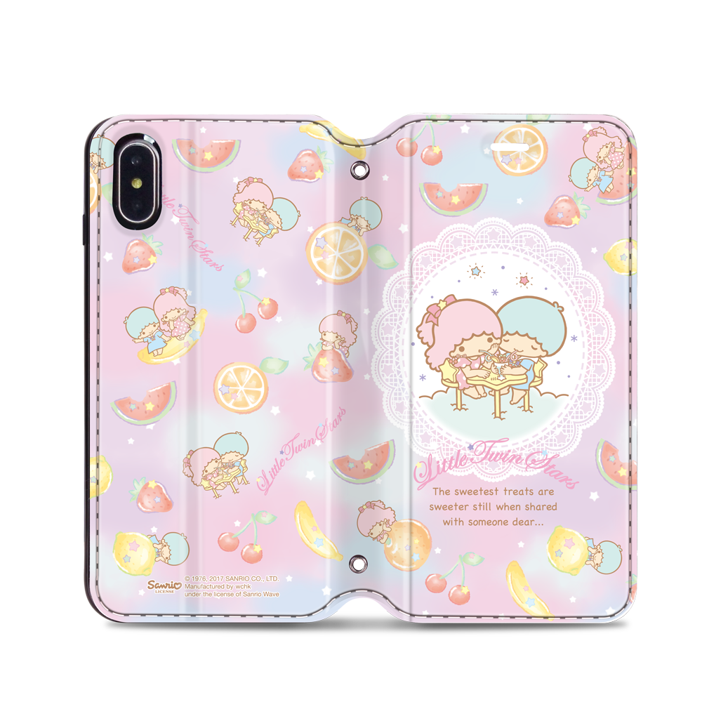 Little Twin Stars Leather Flip Case (TSCM26)