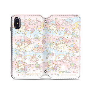 Little Twin Stars Leather Flip Case (TSCM27)