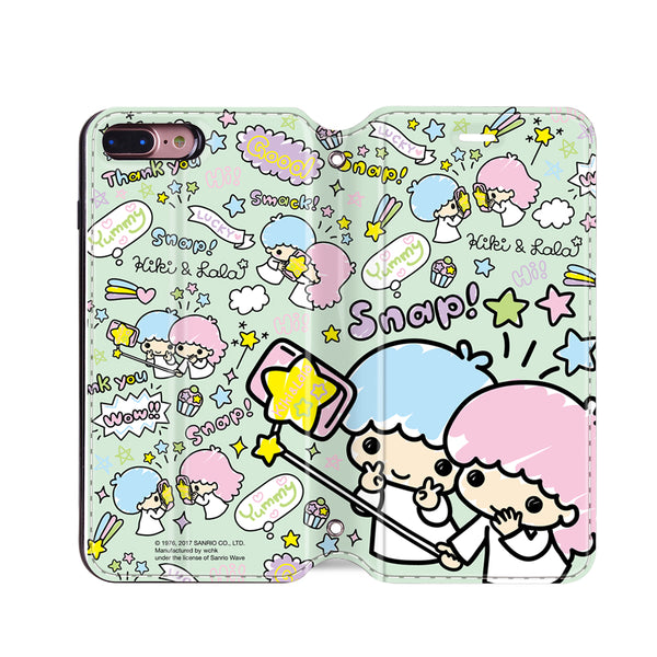 Little Twin Stars Leather Flip Case (TSCM29)