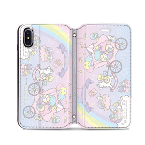 Little Twin Stars Leather Flip Case (TSCM34)