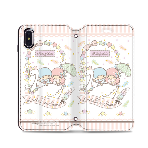 Little Twin Stars Leather Flip Case (TSCM35)