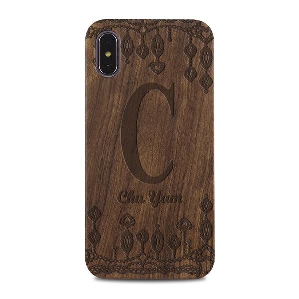 Custom - Wooden Case (Engraved) W05