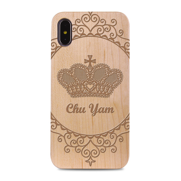 Custom - Wooden Case (Engraved) W06
