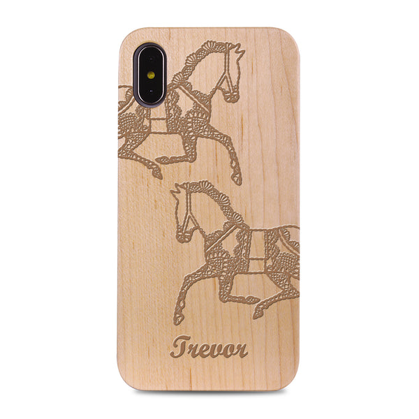 Custom - Wooden Case (Engraved) W14