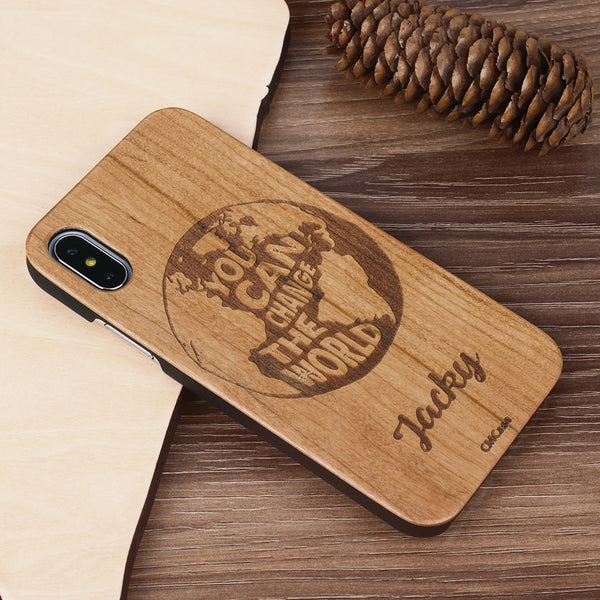 Custom - Wooden Case (Engraved) W27
