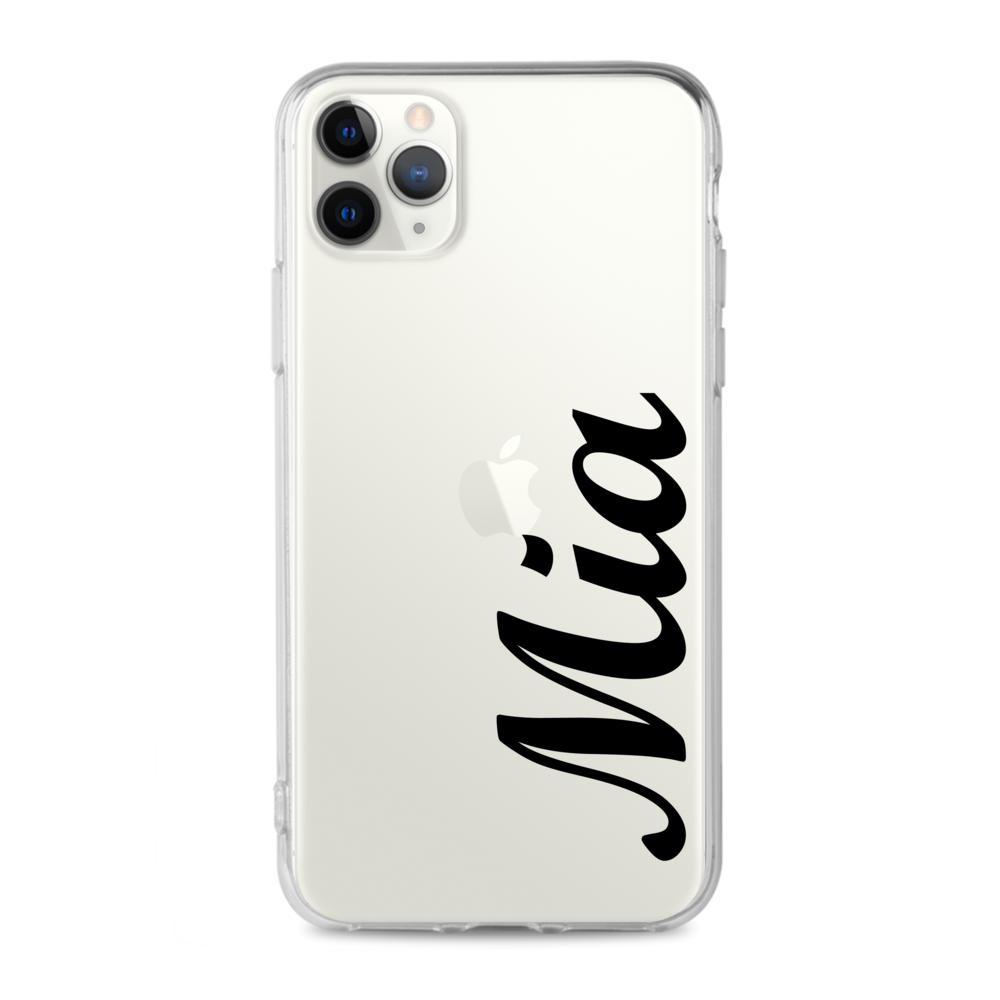 Custom - Typography Clear Case (CMC905)