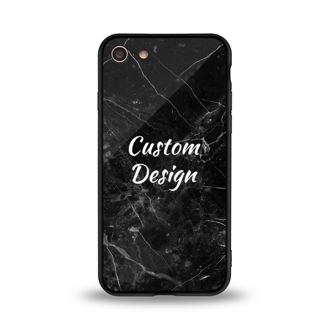 Custom Glossy Glass Case - iPhone 8
