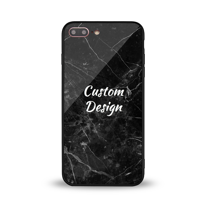 Custom Glossy Glass Case - iPhone 8 Plus