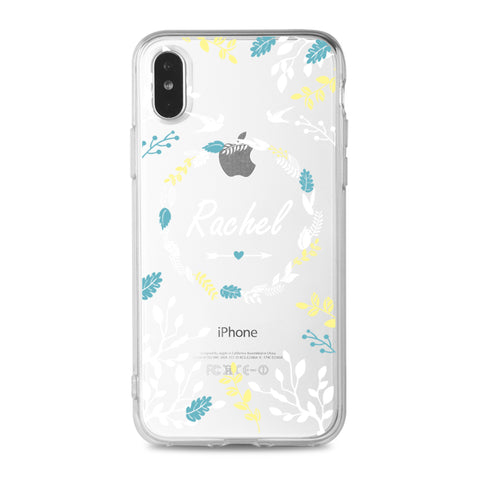 Custom - Pattern Clear Case (Lace C051)