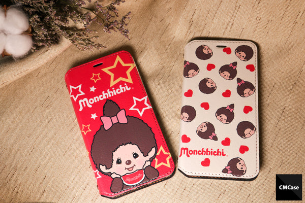 Monchhichi Leather Flip Case (MOCM39)