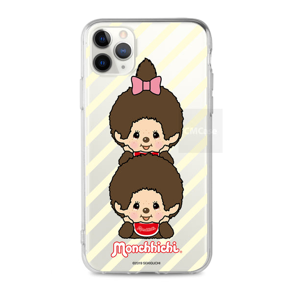 Monchhichi Clear Case (MO87)